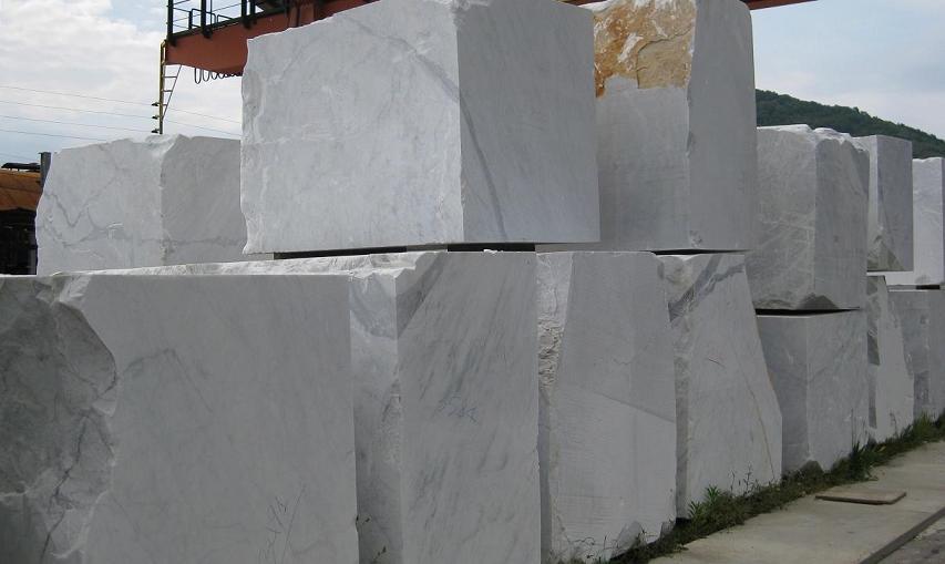 Black Gold Marble Blocks : Marmo bianco blocchi semiblocchi produzione di