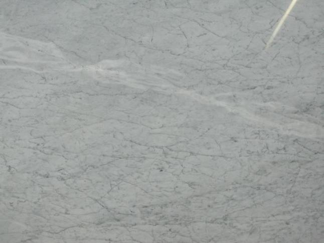 Carrara white marble, commercial  quality