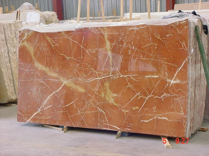 Rojo Alicante extra quality slabs polished