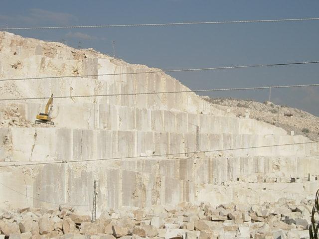 Quarries of Ivory White Limestone