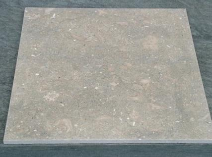 Limestone Fossil Green Light rough, grezzo