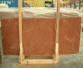 alicante red slabs polished 2 c in bundles